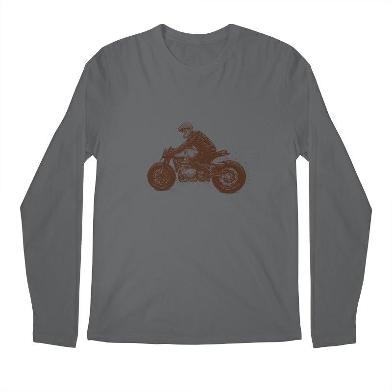 Ready for adventure Men's Longsleeve T-Shirt by barmalisiRTB