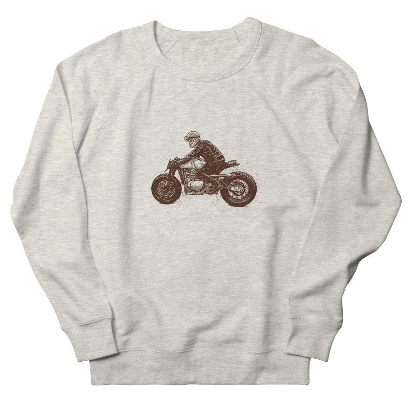 Ready for adventure Men's French Terry Sweatshirt by barmalisiRTB