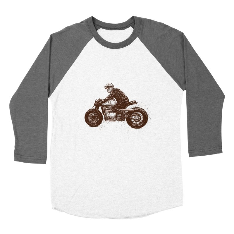 Ready for adventure Women's Baseball Triblend Longsleeve T-Shirt by barmalisiRTB