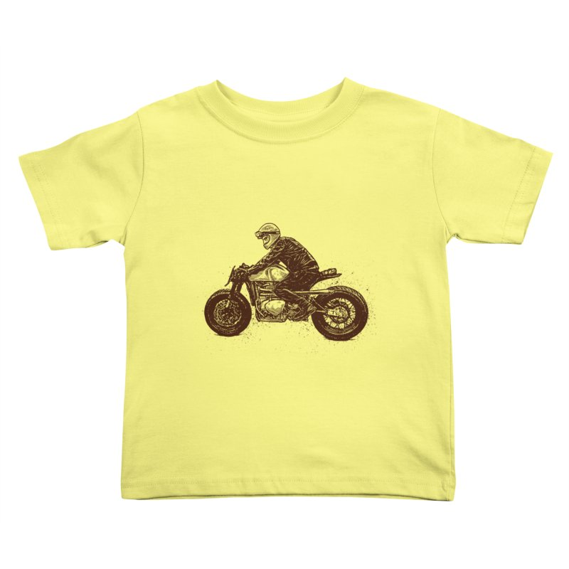 Ready for adventure Kids Toddler T-Shirt by barmalisiRTB