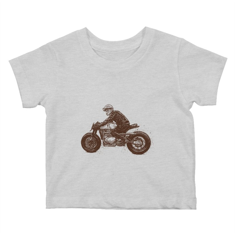 Ready for adventure Kids Baby T-Shirt by barmalisiRTB