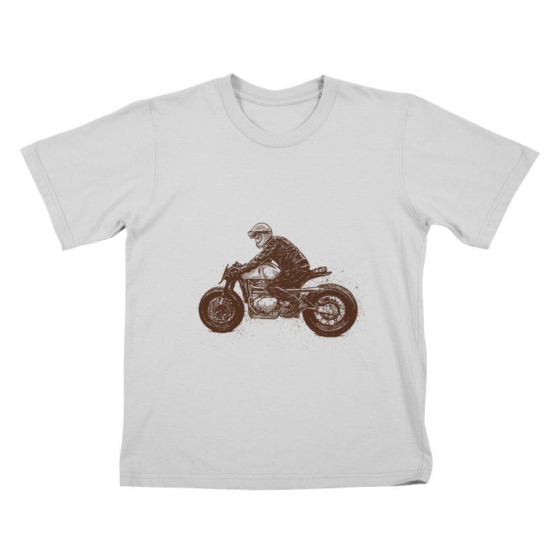 Ready for adventure Kids T-Shirt by barmalisiRTB