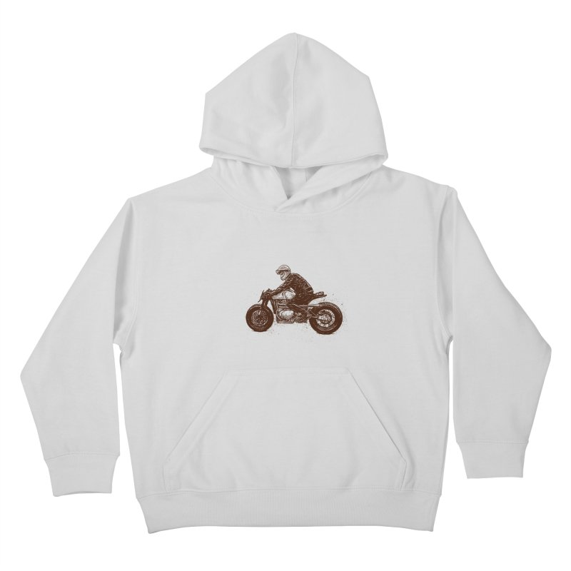 Ready for adventure Kids Pullover Hoody by barmalisiRTB