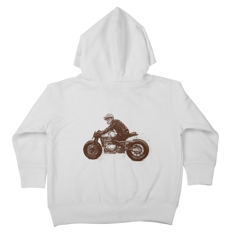 Ready for adventure Kids Toddler Zip-Up Hoody by barmalisiRTB