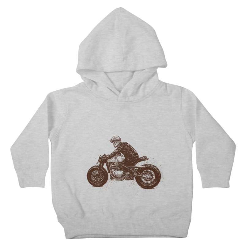 Ready for adventure Kids Toddler Pullover Hoody by barmalisiRTB