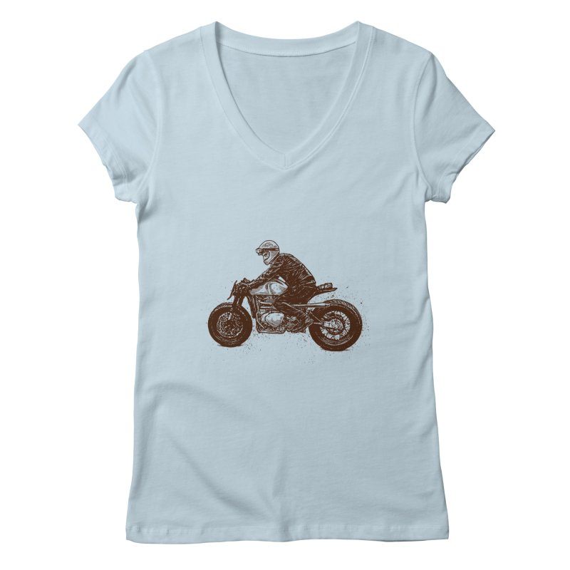 Ready for adventure Women's V-Neck by barmalisiRTB