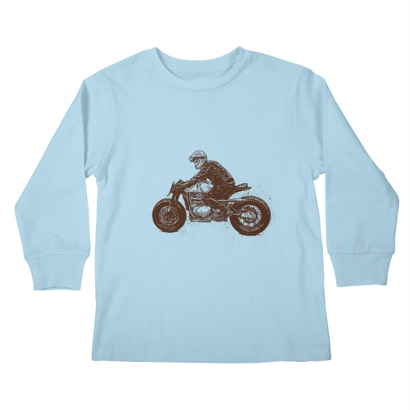 Ready for adventure Kids Longsleeve T-Shirt by barmalisiRTB