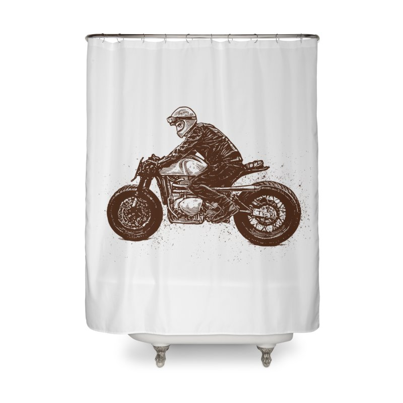 Ready for adventure Home Shower Curtain by barmalisiRTB