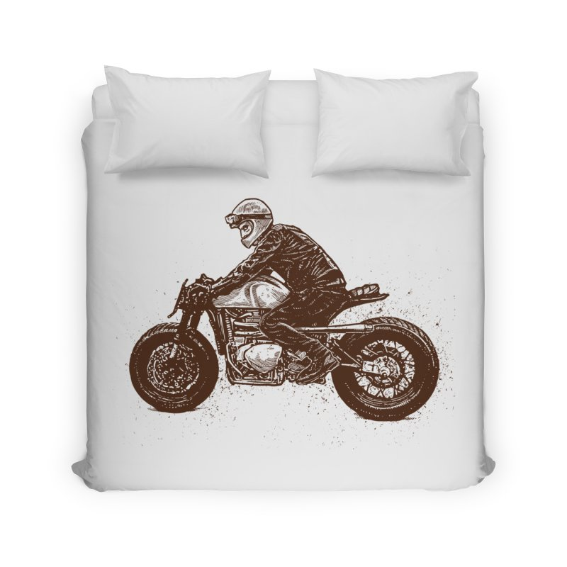 Ready for adventure Home Duvet by barmalisiRTB