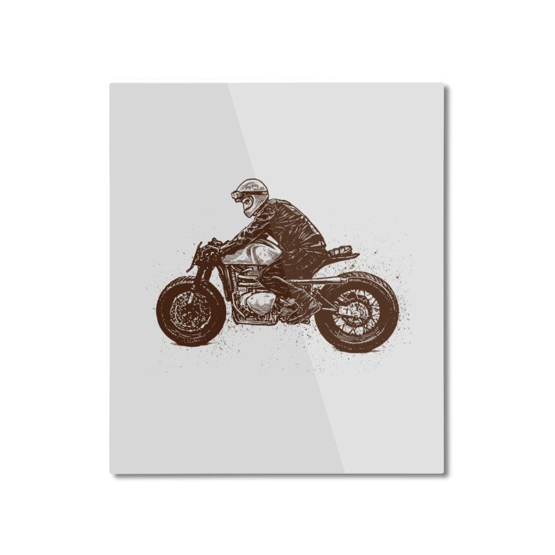 Ready for adventure Home Mounted Aluminum Print by barmalisiRTB