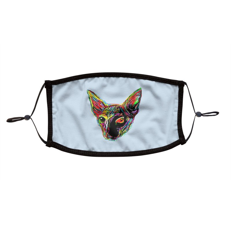 Sphynx cat Love Accessories Face Mask by barmalisiRTB