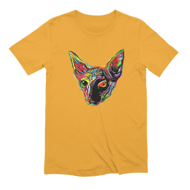 Sphynx cat Love Men's T-Shirt by barmalisiRTB