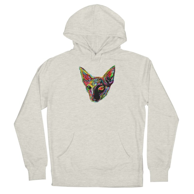Sphynx cat Love Men's Pullover Hoody by barmalisiRTB