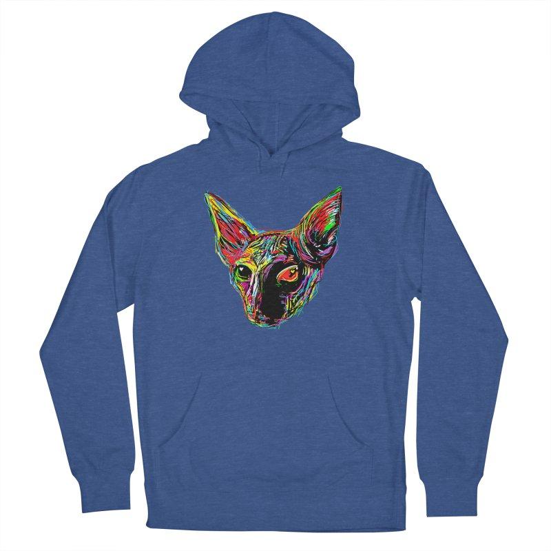 Sphynx cat Love Men's Pullover Hoody by barmalisiRTB