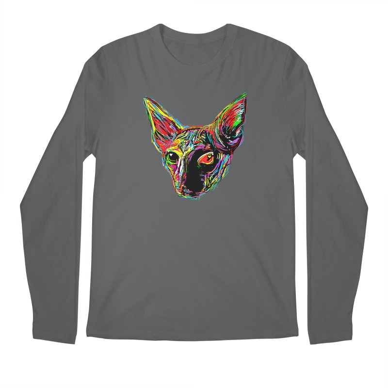 Sphynx cat Love Men's Longsleeve T-Shirt by barmalisiRTB