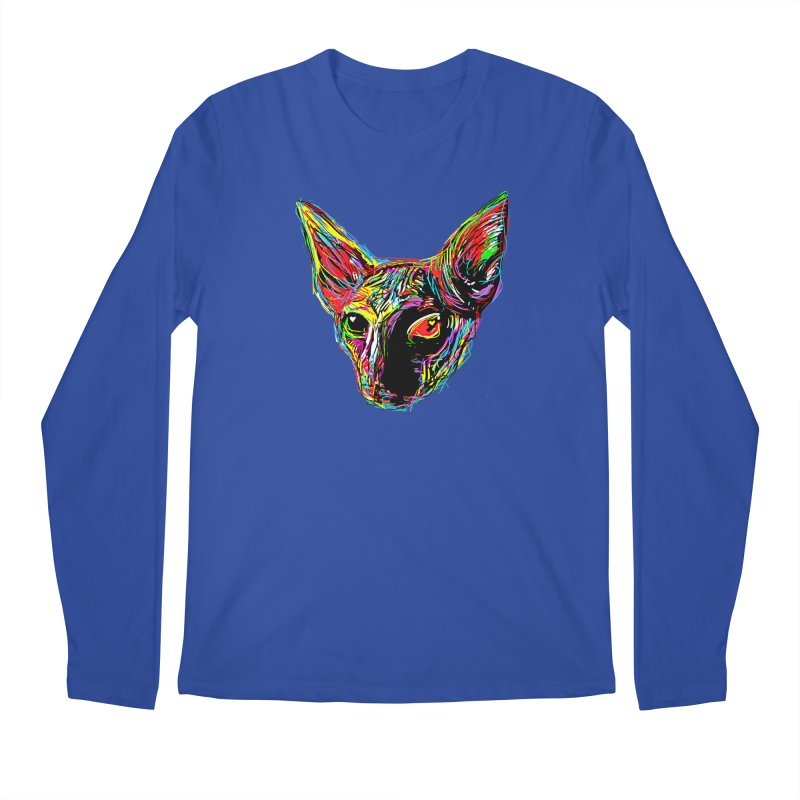 Sphynx cat Love Men's Longsleeve T-Shirt by barmalisiRTB