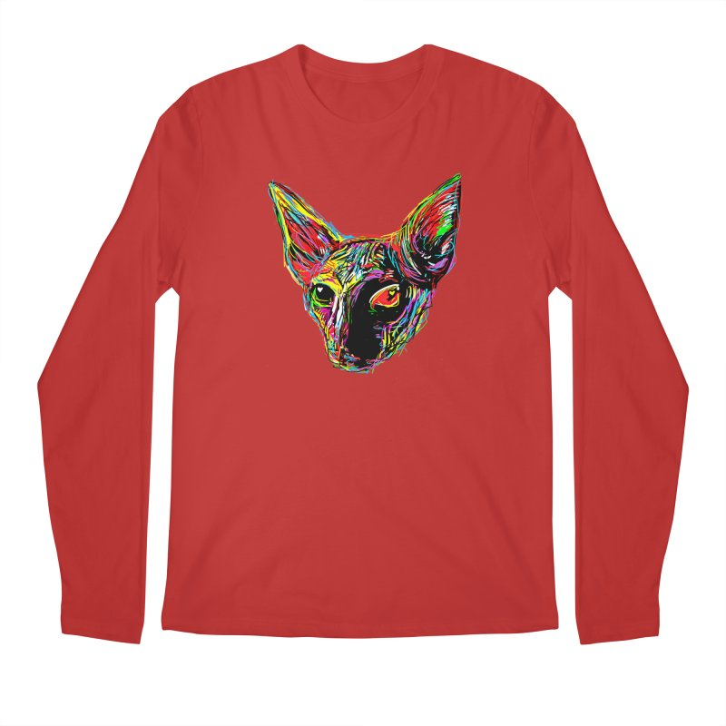 Sphynx cat Love Men's Regular Longsleeve T-Shirt by barmalisiRTB