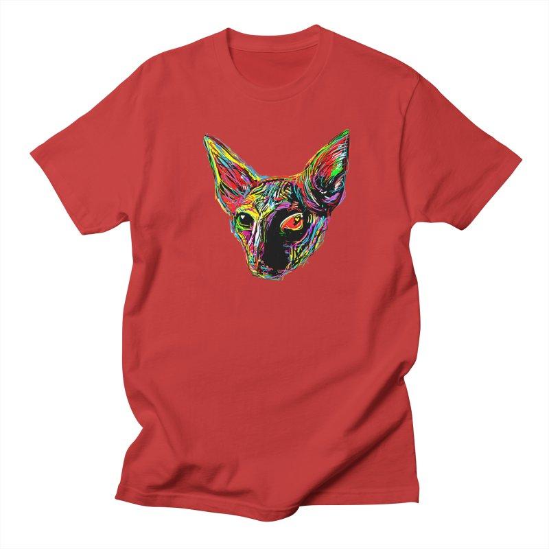 Sphynx cat Love Men's Regular T-Shirt by barmalisiRTB