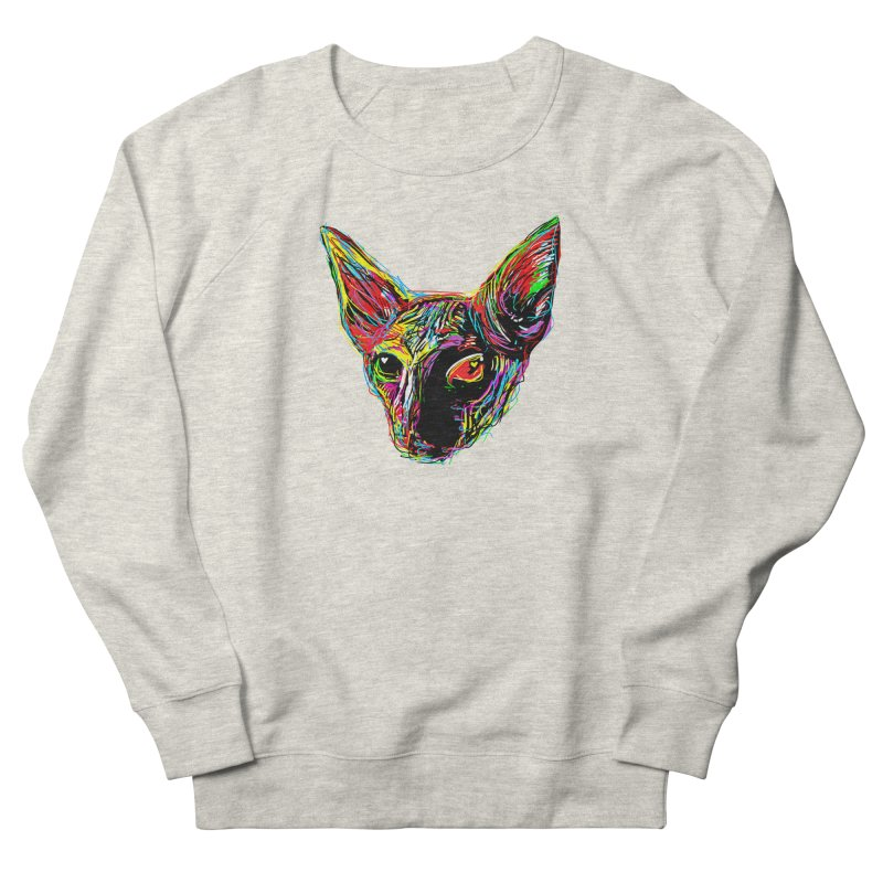 Sphynx cat Love Women's French Terry Sweatshirt by barmalisiRTB