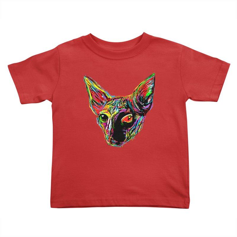 Sphynx cat Love Kids Toddler T-Shirt by barmalisiRTB