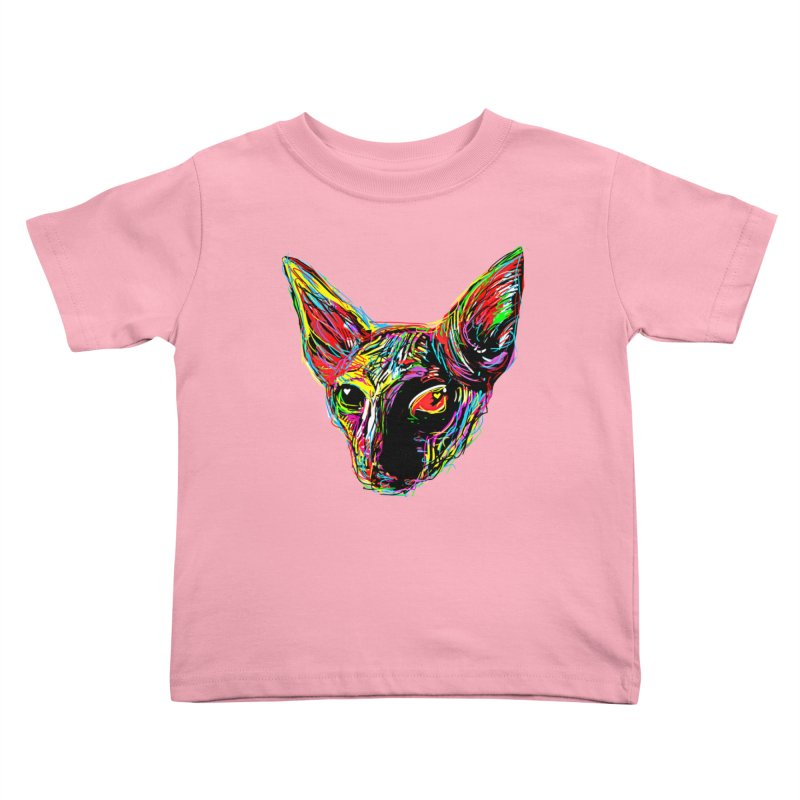 Sphynx cat Love Kids Toddler T-Shirt by barmalisiRTB