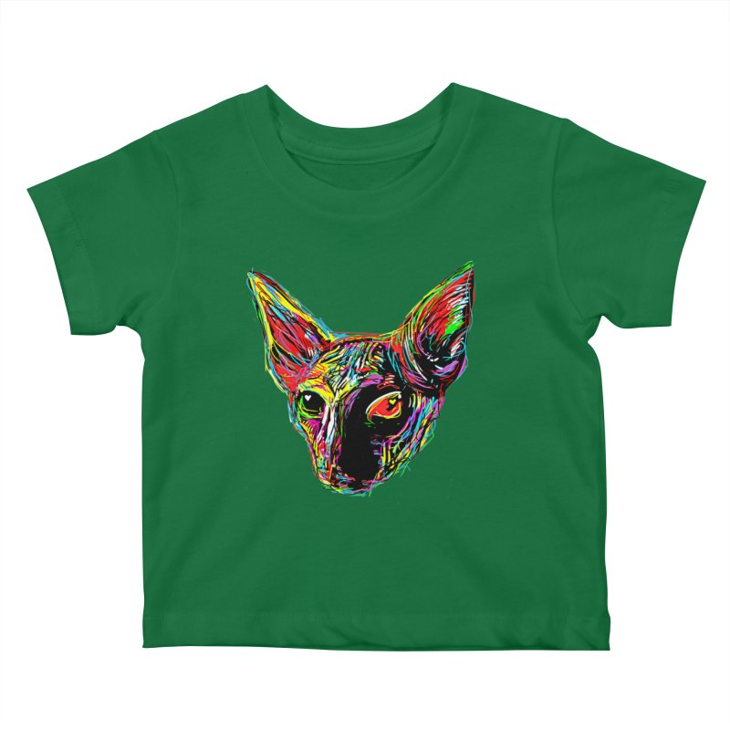 Sphynx cat Love Kids Baby T-Shirt by barmalisiRTB