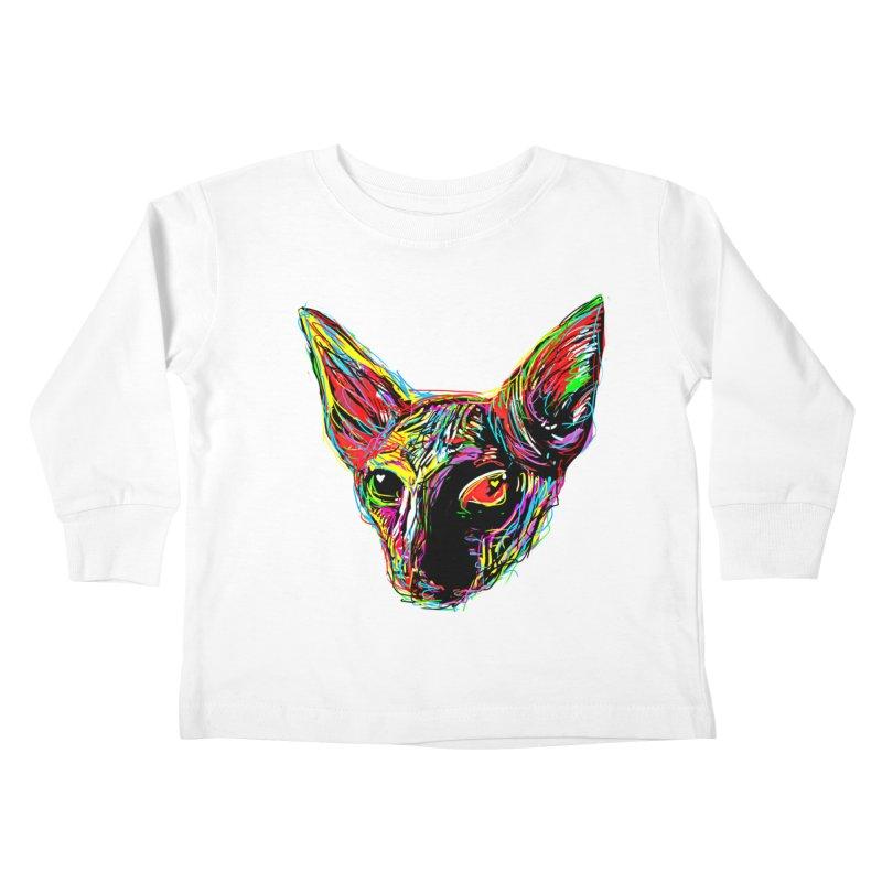 Sphynx cat Love Kids Toddler Longsleeve T-Shirt by barmalisiRTB