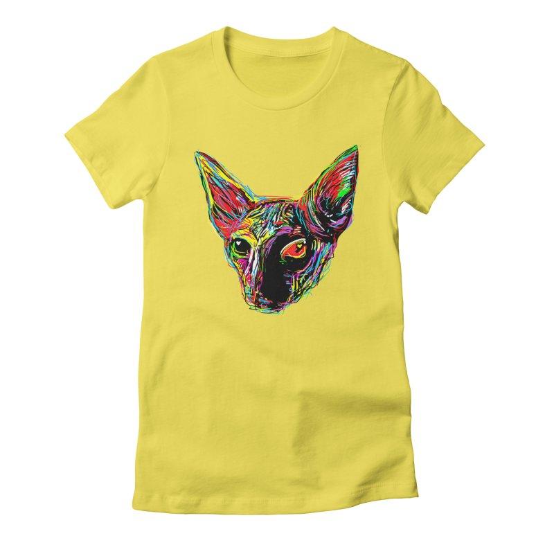 Sphynx cat Love Women's T-Shirt by barmalisiRTB