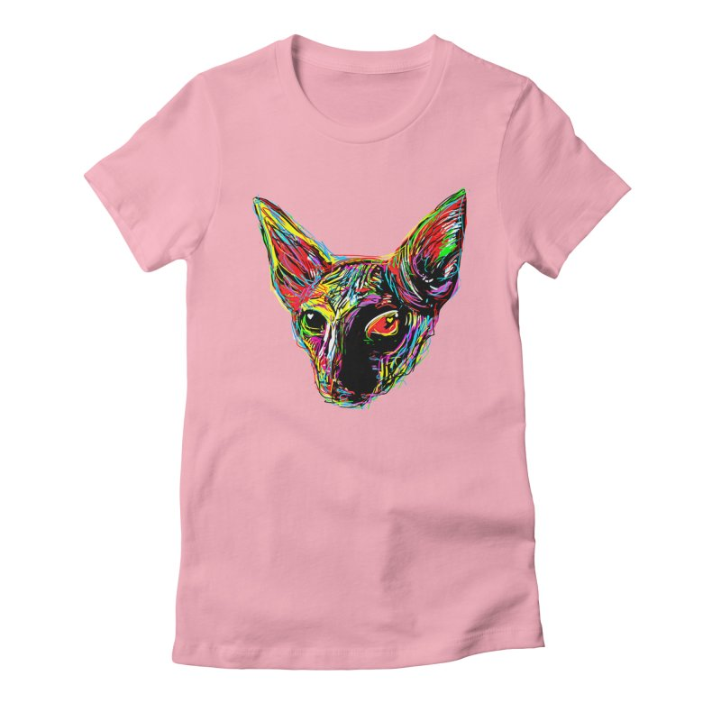 Sphynx cat Love Women's T-Shirt by barmalisiRTB