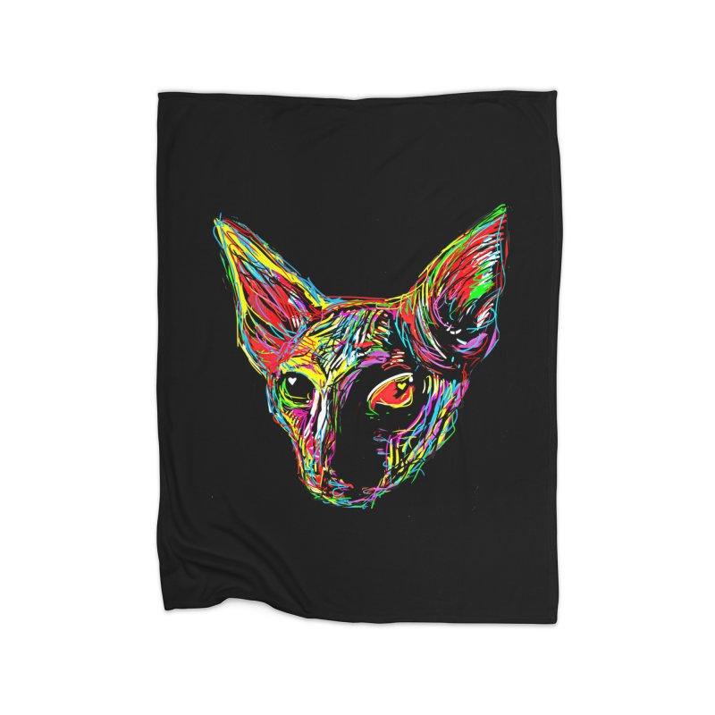 Sphynx cat Love Home Blanket by barmalisiRTB