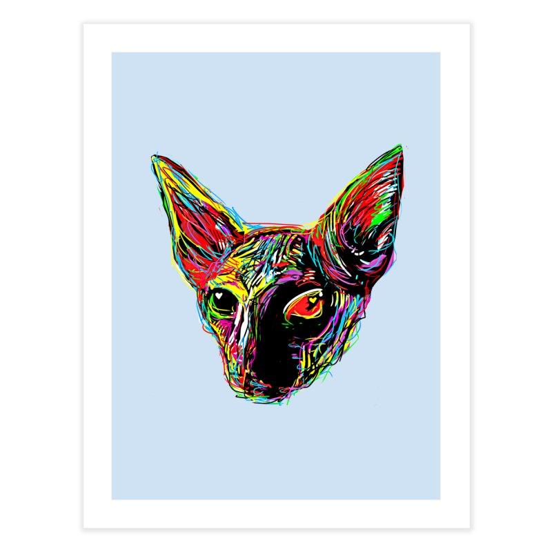 Sphynx cat Love Home Fine Art Print by barmalisiRTB