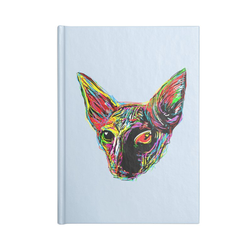 Sphynx cat Love Accessories Notebook by barmalisiRTB