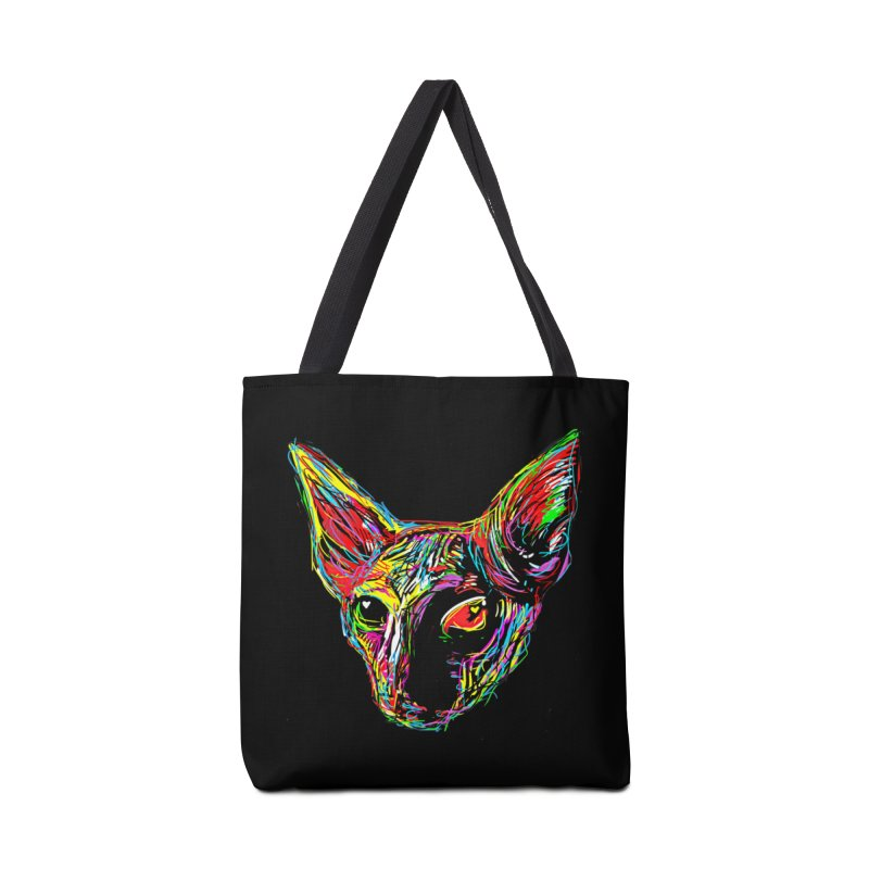 Sphynx cat Love Accessories Bag by barmalisiRTB