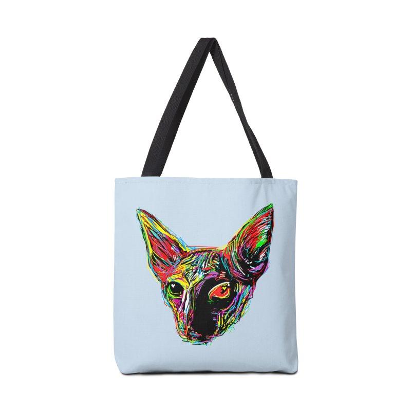Sphynx cat Love Accessories Bag by barmalisiRTB