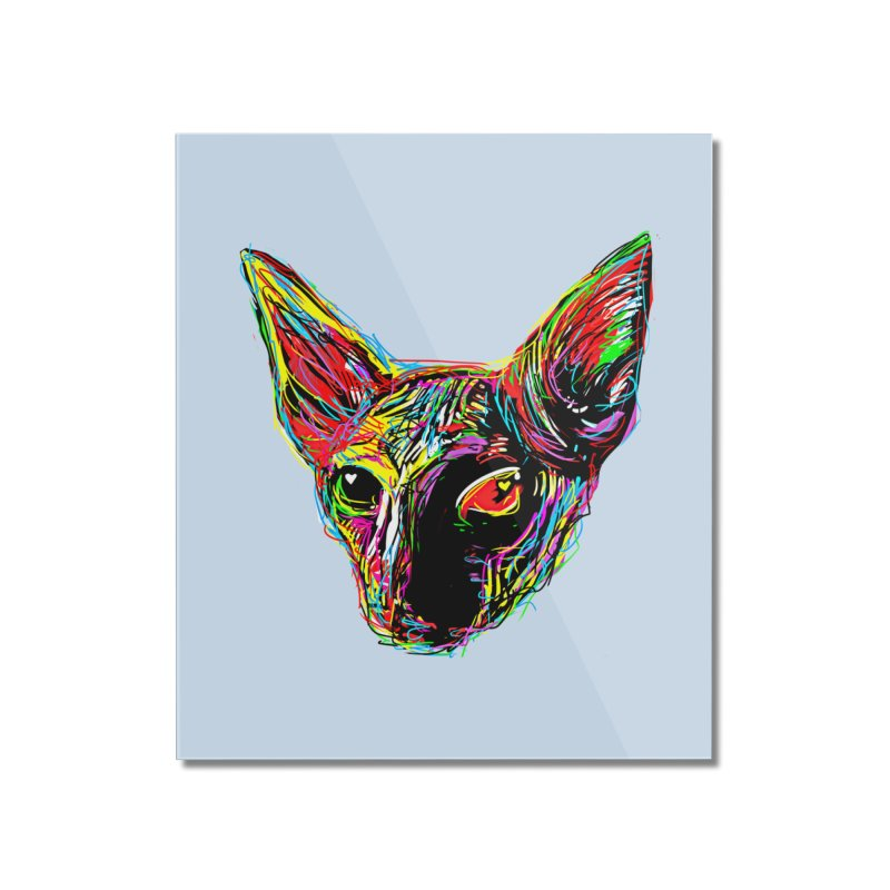 Sphynx cat Love Home Mounted Acrylic Print by barmalisiRTB