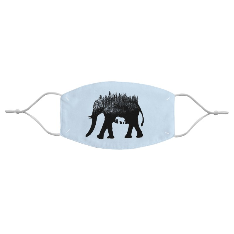Nature elephant Accessories Face Mask by barmalisiRTB