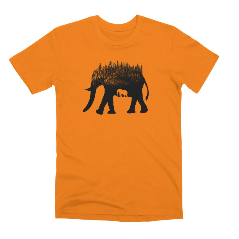 Nature elephant Men's T-Shirt by barmalisiRTB