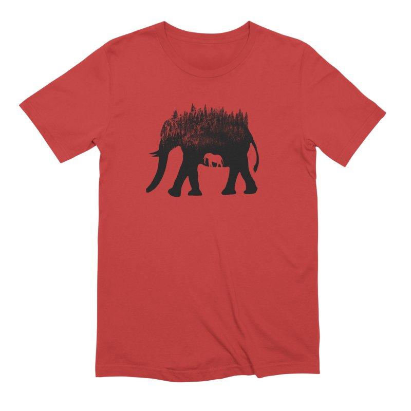 Nature elephant Men's Extra Soft T-Shirt by barmalisiRTB