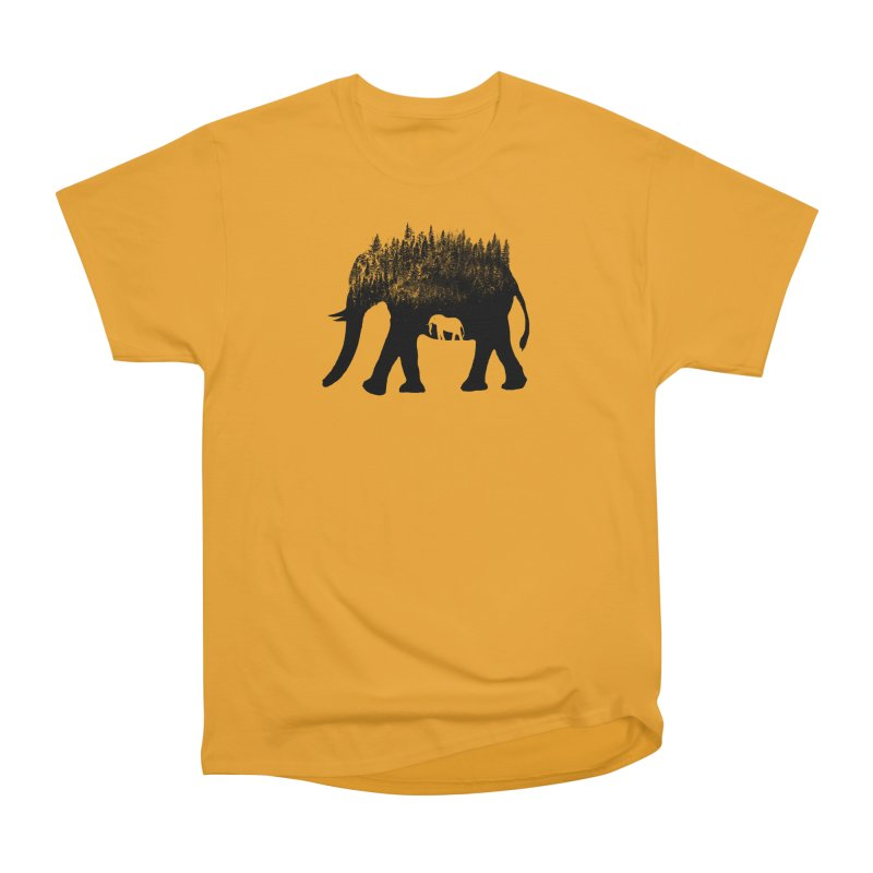 Nature elephant Women's Heavyweight Unisex T-Shirt by barmalisiRTB