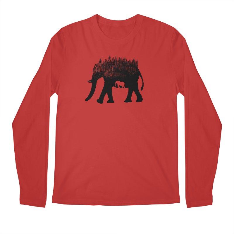 Nature elephant Men's Longsleeve T-Shirt by barmalisiRTB