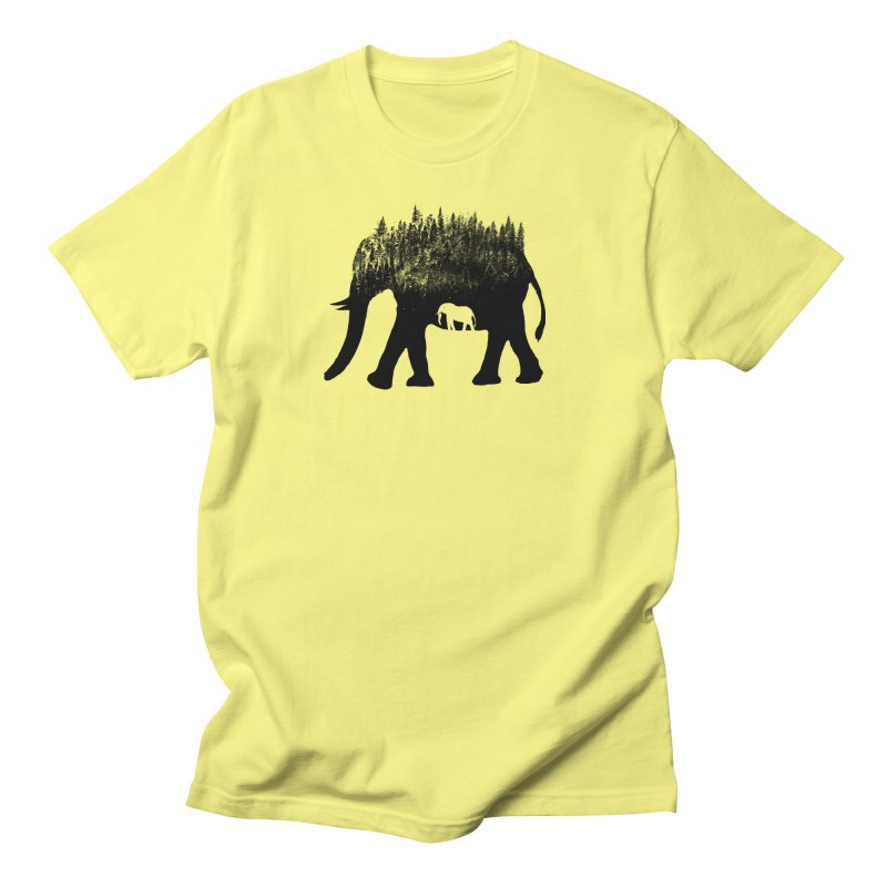 Nature elephant Men's T-Shirt by barmalisiRTB