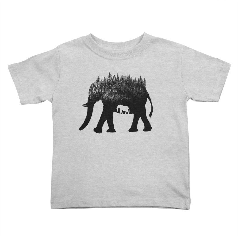 Nature elephant Kids Toddler T-Shirt by barmalisiRTB