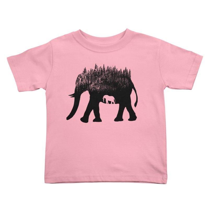 Nature elephant Kids Toddler T-Shirt by barmalisiRTB