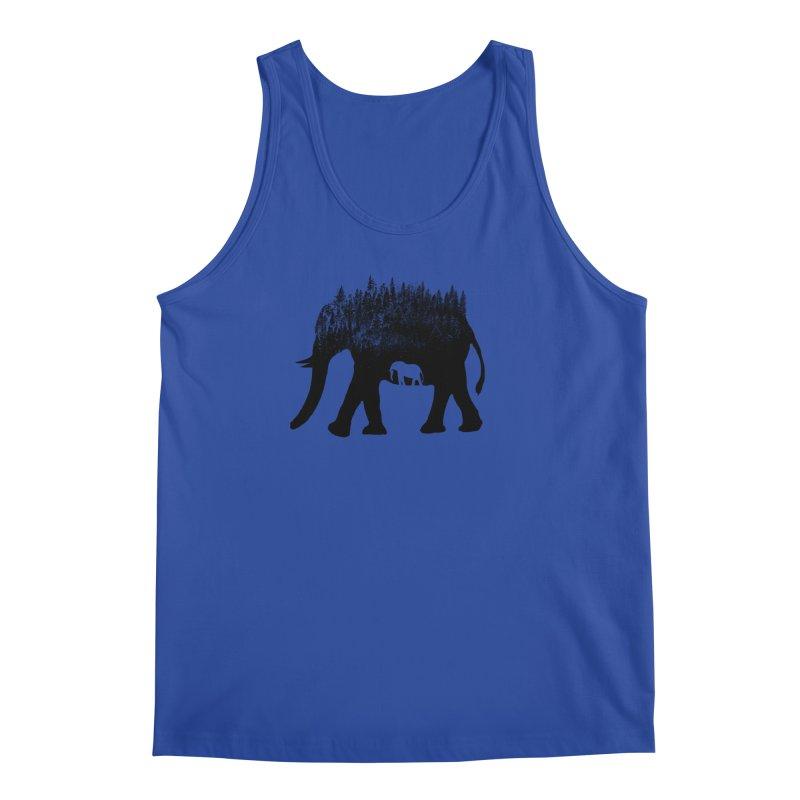 Nature elephant Men's Regular Tank by barmalisiRTB