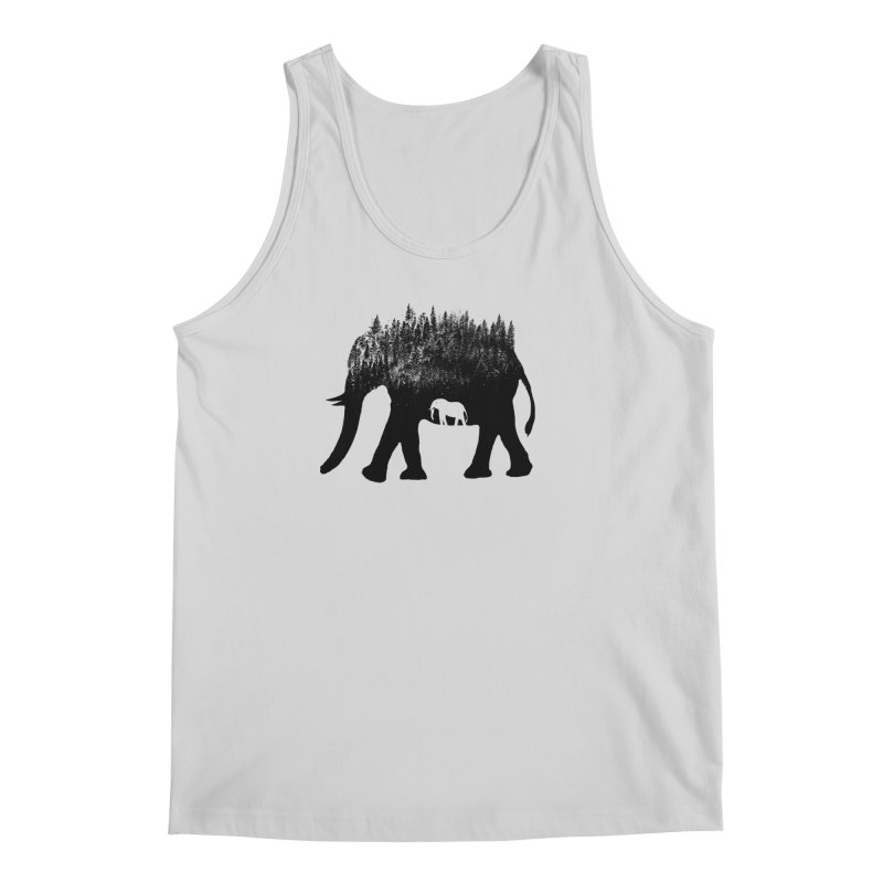 Nature elephant Men's Regular Tank by barmalisiRTB