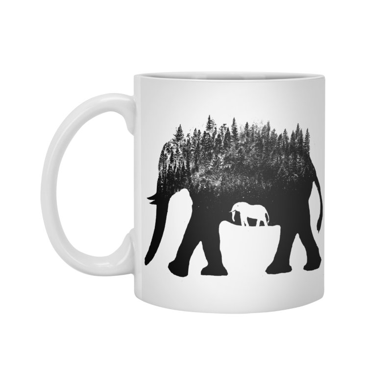 Nature elephant Accessories Mug by barmalisiRTB