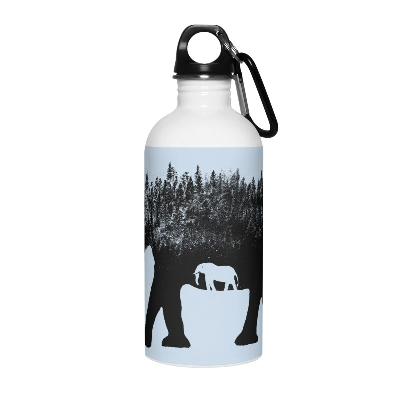 Nature elephant Accessories Water Bottle by barmalisiRTB