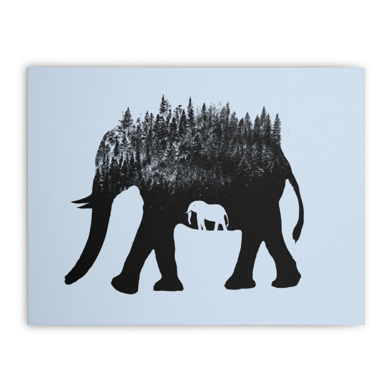 Nature elephant Home Stretched Canvas by barmalisiRTB
