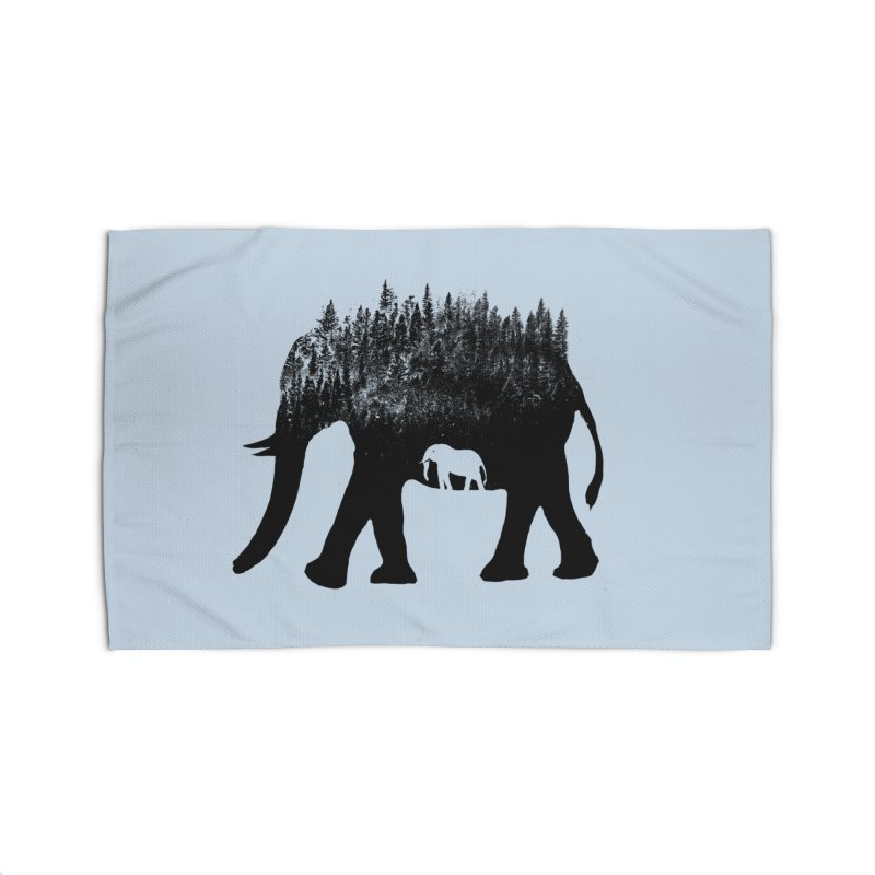 Nature elephant Home Rug by barmalisiRTB
