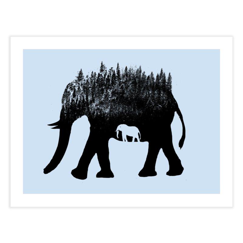 Nature elephant Home Fine Art Print by barmalisiRTB
